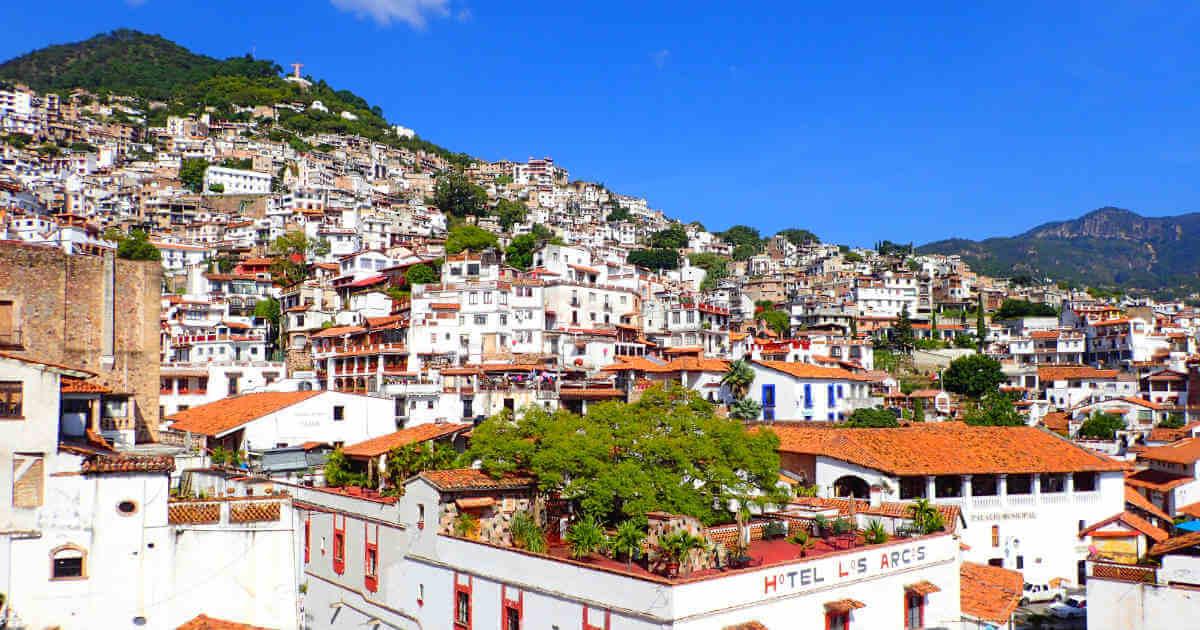 メキシコの白い街・タスコ(Taxco)