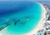 カンクンのカリブ海(©たきれいな)
