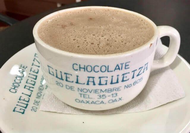 オアハカのホットチョコレート