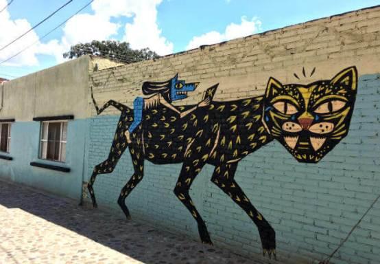 オアハカの壁画