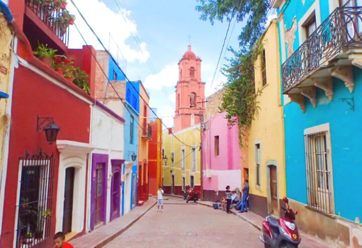 グアナファトの街を散歩