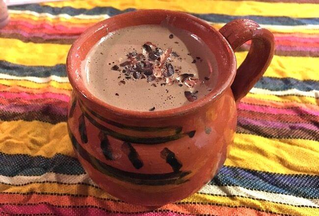 ホットチョコレート(メキシコ)1