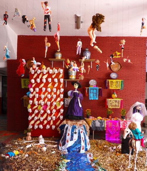 メキシコ死者の日の祭壇(オフレンダ)5