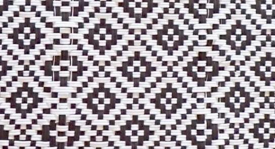 メルカドバッグの編みのアップ写真