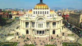 メキシコシティの景色
