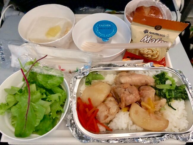 アエロメヒコの機内食