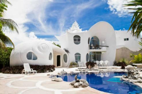 カサデカラコル casa de caracol イスラムヘーレス(AirBnBで最もユニークな宿)