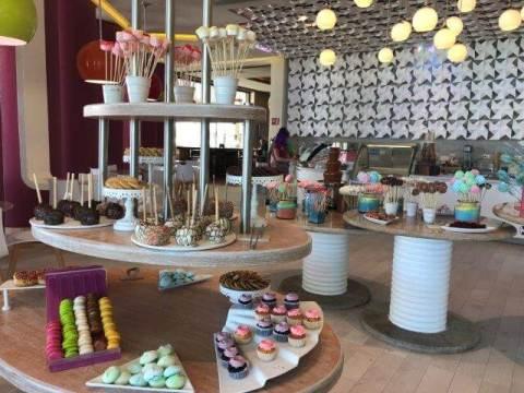 ハイアット・ジーヴァホテルのお菓子の部屋