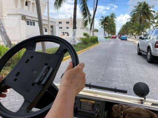 イスラムヘーレス ゴルフカートの運転方法5