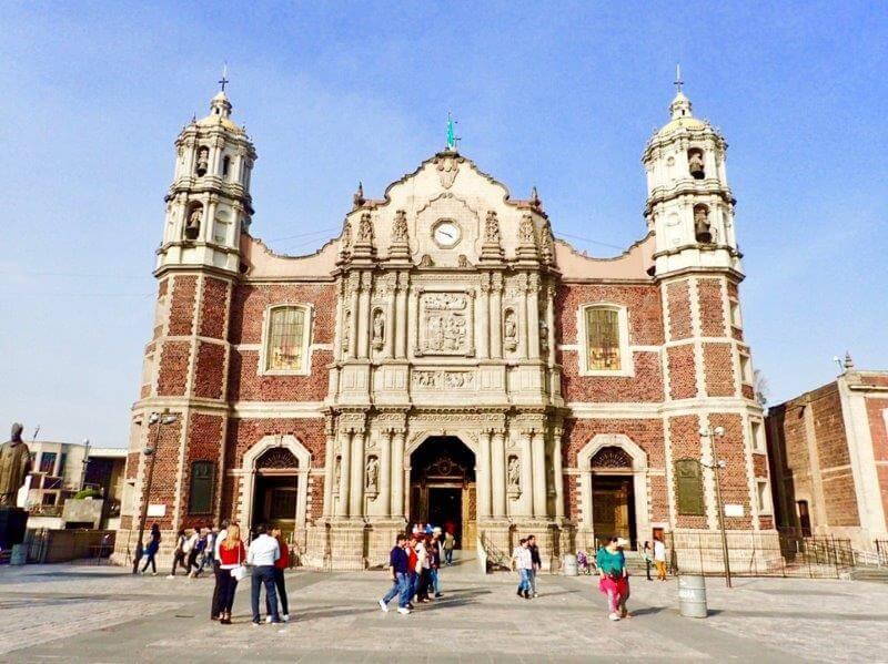 メキシコシティのグアダルーペ寺院