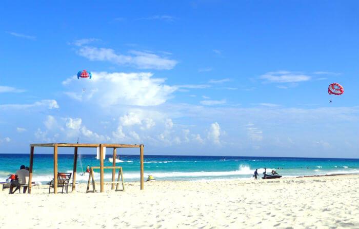 グランカリベ(パナマジャック)ホテルのビーチ2