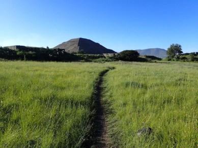 テオティワカン遺跡への道