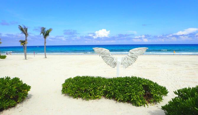 ライブアクアビーチリゾートカンクン (34)のビーチ