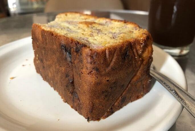 オアハカランチにおすすめ「カフェヌエボムンド」のパウンドケーキ