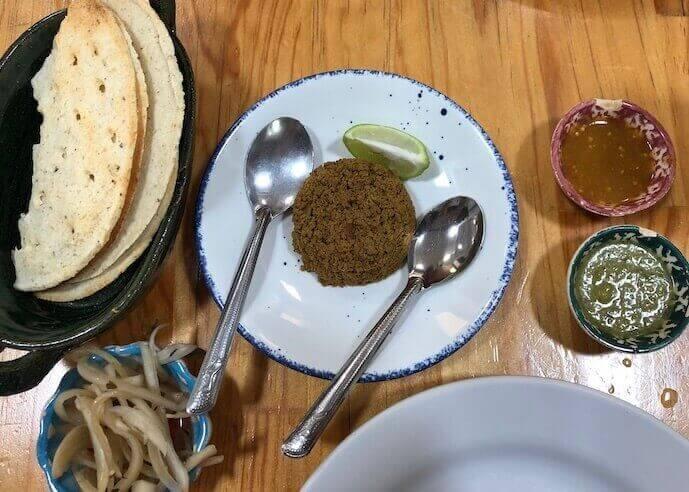 オアハカ・イスモ料理のおすすめレストラン(サンドゥンガ)6