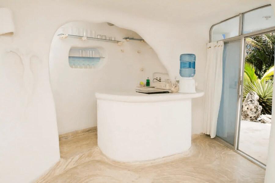 メキシコ、イスラムへーレス島のシェルハウス(貝殻の家)6