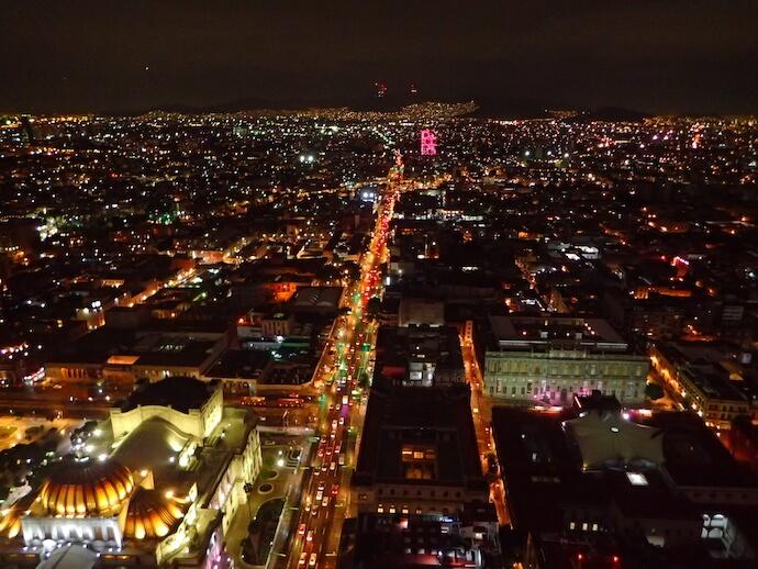 メキシコシティ ラテンアメリカタワー2