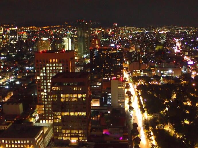 メキシコシティ ラテンアメリカタワー3