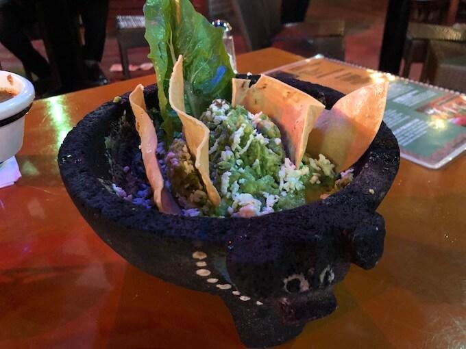 カンクンのメキシコ料理レストランMEXTREME7 ワカモレ