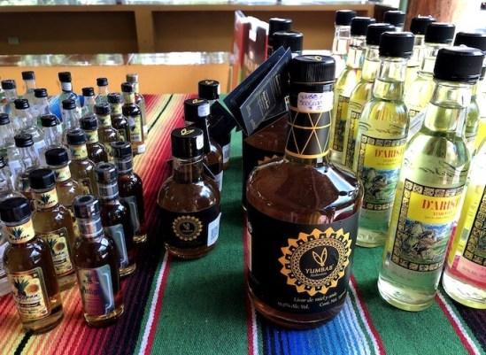 セノーテ・イキルのショップのハチミツテキーラ