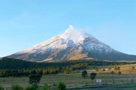 ポポカテペトル火山