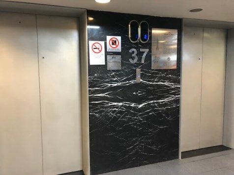 ラテンアメリカタワーのエレベーター2