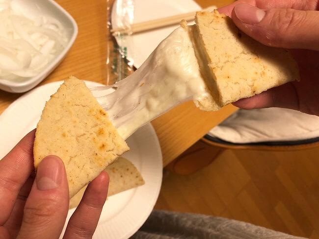 さけるチーズを使ったケッサディーヤの作り方5