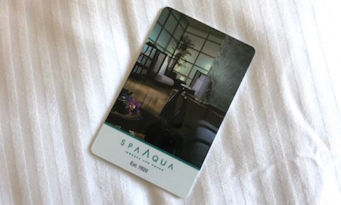 ライブアクア部屋のカードキー