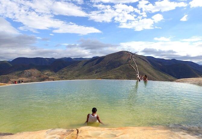 イエルベエルアグアの天然石灰プール8