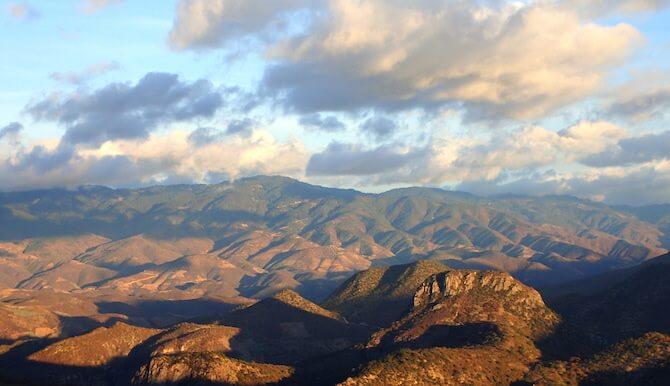 イエルベエルアグアの山の景色2