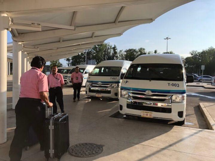 オアハカ市内へのミニバスの乗り方2