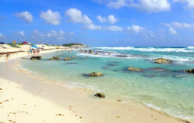 コスメル島のビーチ