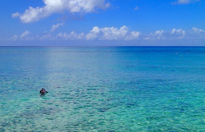 コスメル島の海辺1