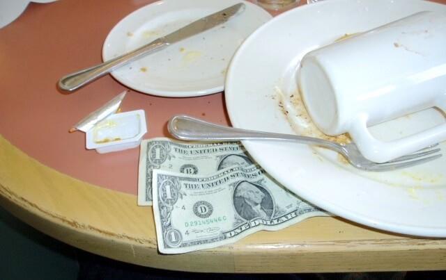 チップの2ドル