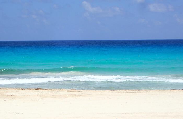 プラヤデルカルメンのビーチサイド1