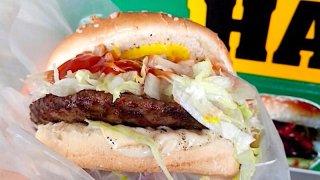 絶品ハンバーガー(メキシコシティのコリマ)