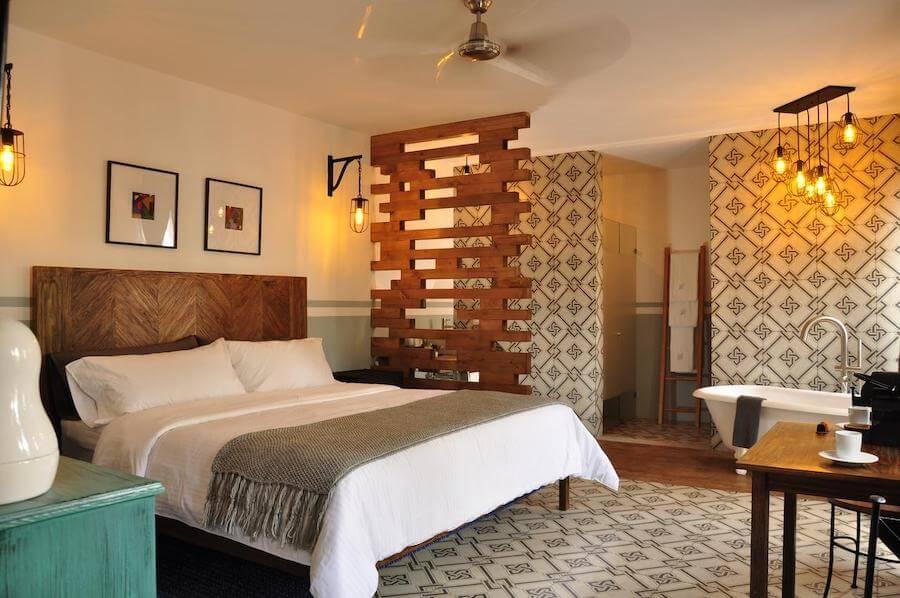 Clandestino Hotel部屋