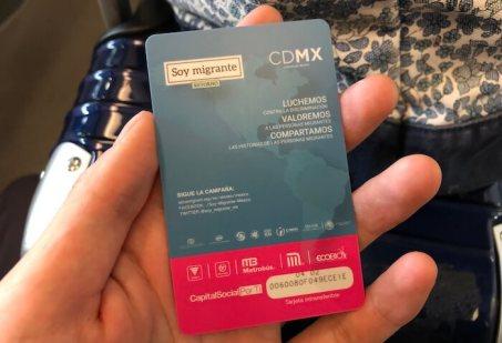 メキシコシティのメトロバスカード1