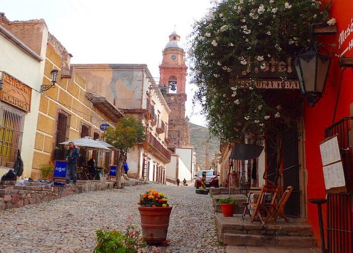 レアルデカトルセの中心地