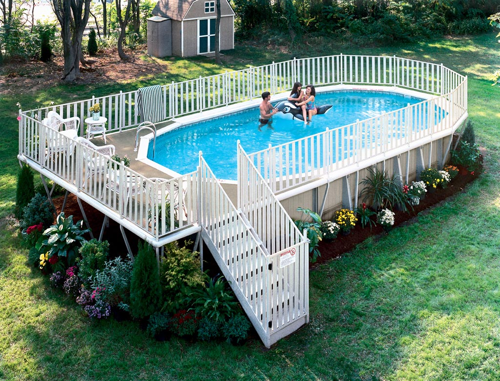 Above Ground Pool Deck Packages