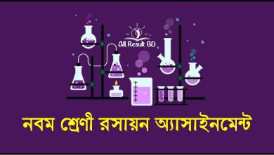 Chemistry assignment class 9