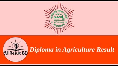 Diploma in Agriculture Result