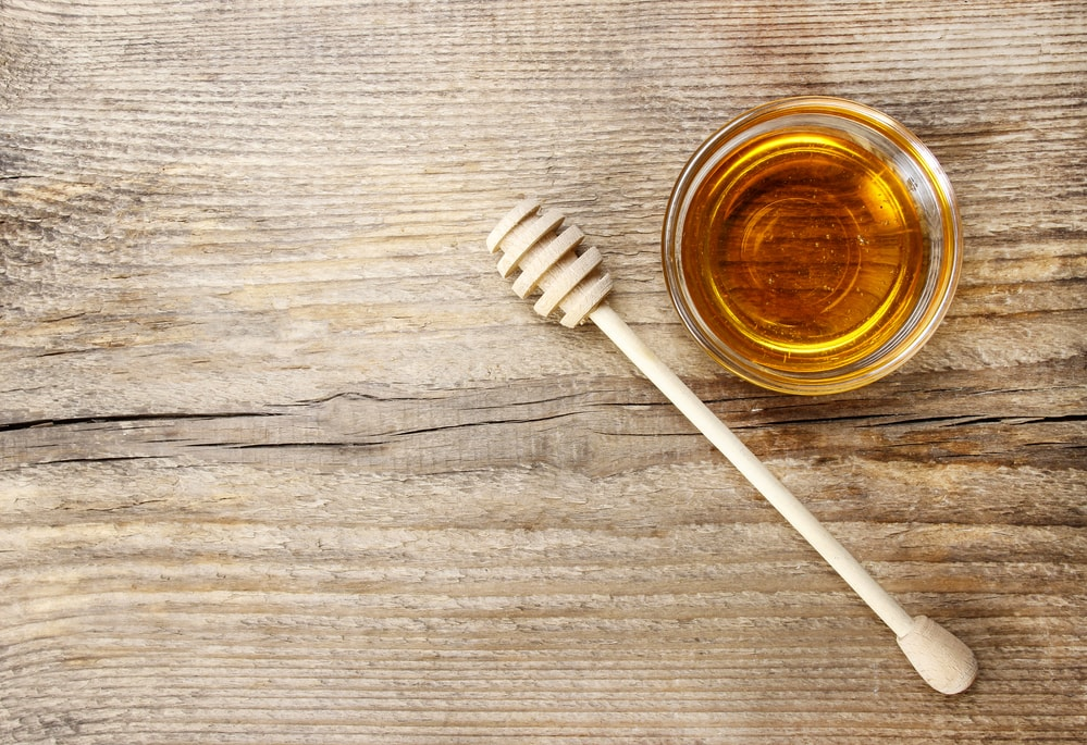 Honey is a natural way to get soft lips