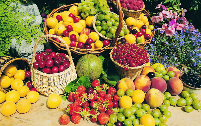 list of fruits and their benefits