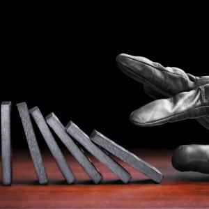 black glove dominoes