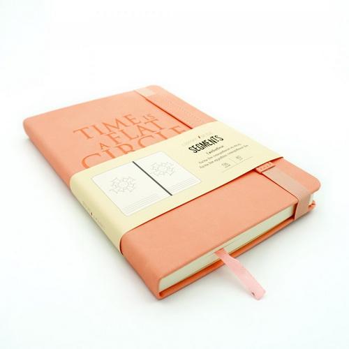 Недатированный ежедневник «Segments» (персиковый)