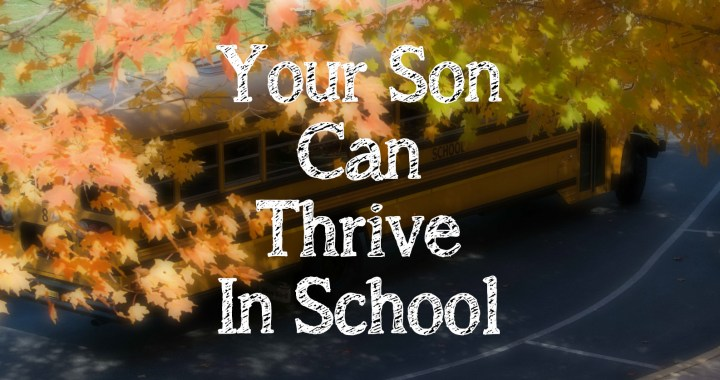 Your son does not have to fall victim to a system that prefers girls. Follow these suggestions to help your son thrive in school.