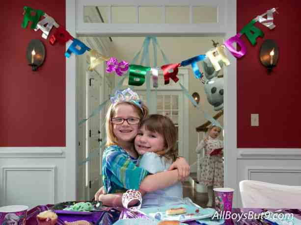 frozen birthday girls