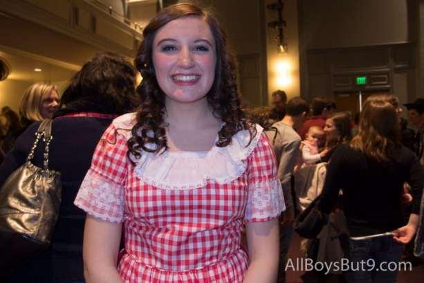Oklahoma's Ado Annie smiles big!