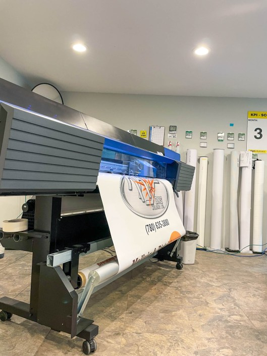 large format printing in Alberta - Sign Solutions